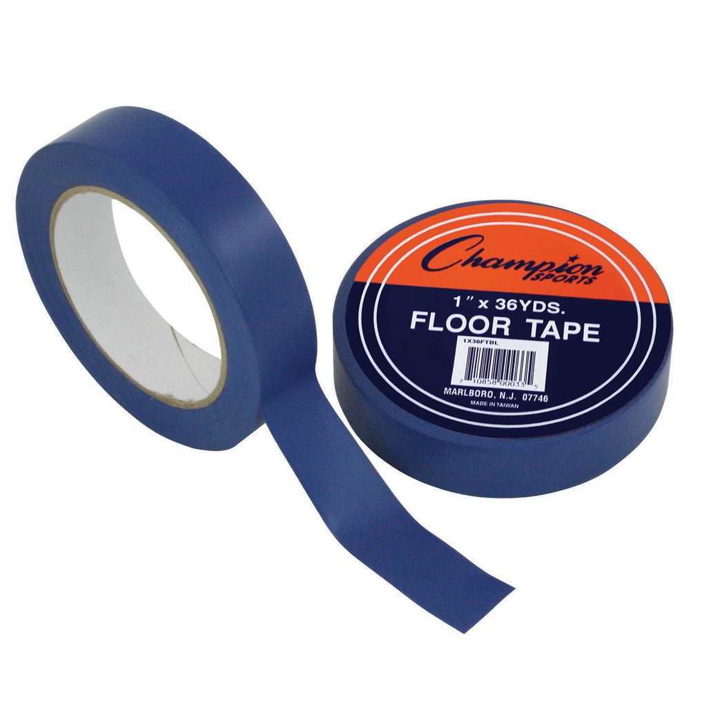 Champion Sports Floor Tape Blue