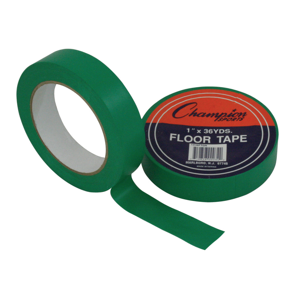Champion Sports Floor Tape Green