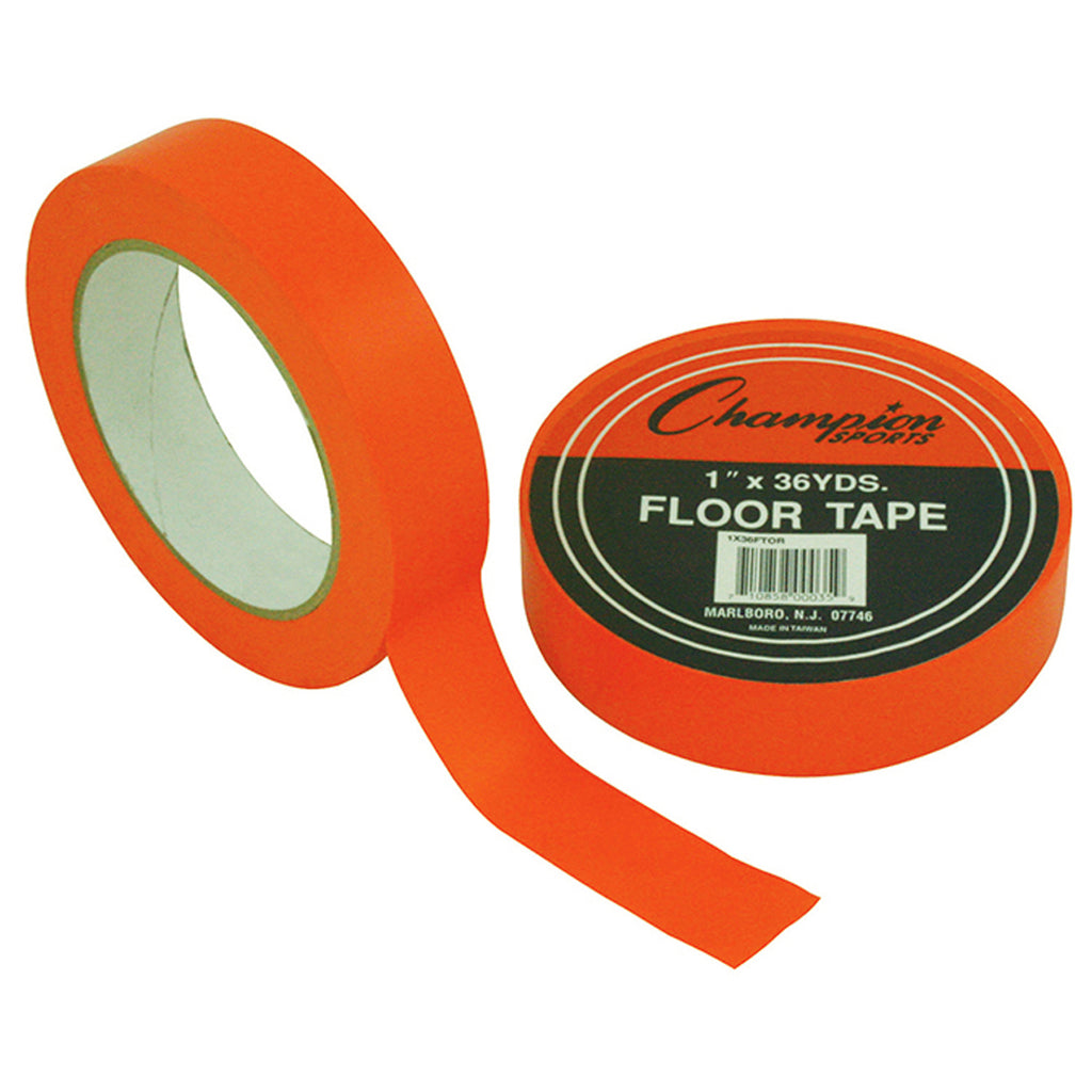 Champion Sports Floor Tape Orange
