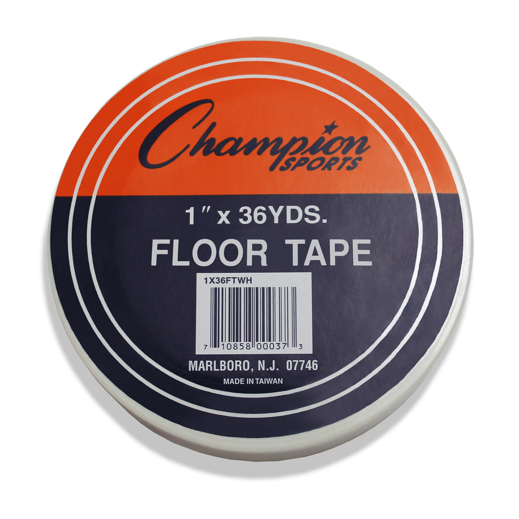 Champion Sports Floor Marking Tape White