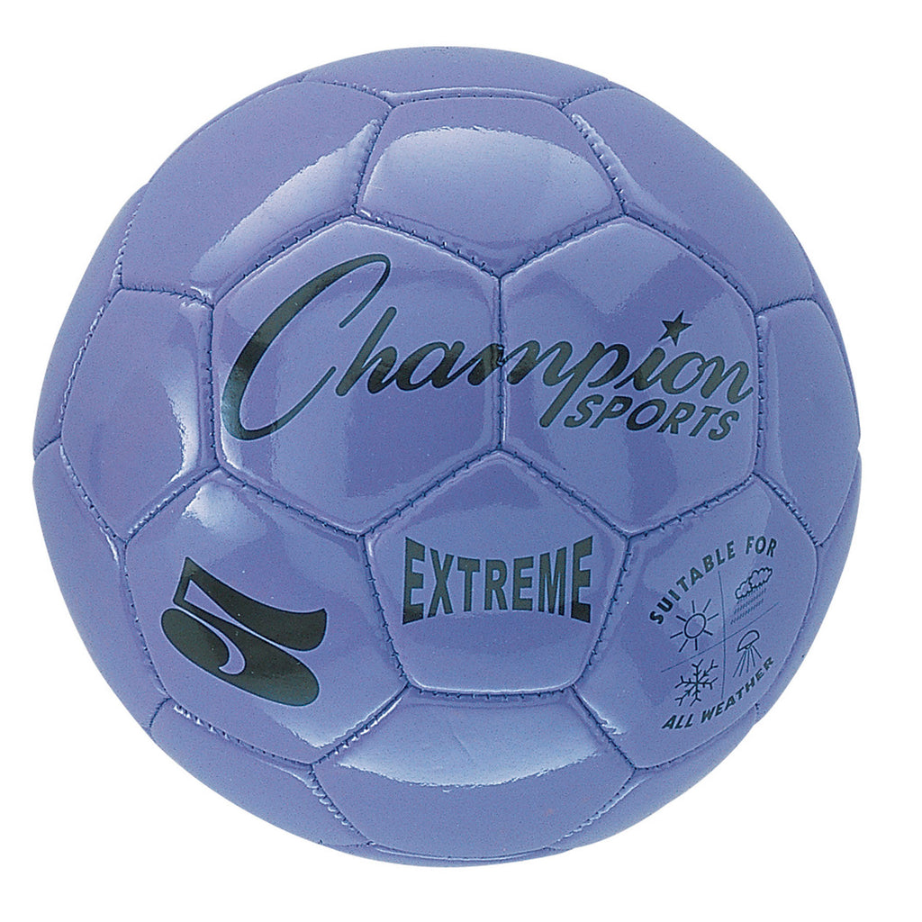 Champion Sports Extreme Soccer Ball, Size 5 Purple