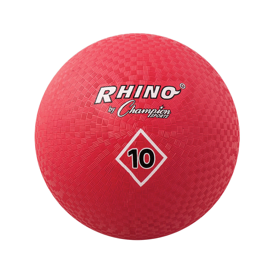 Champion Sports Playground Balls Inflates To 10In