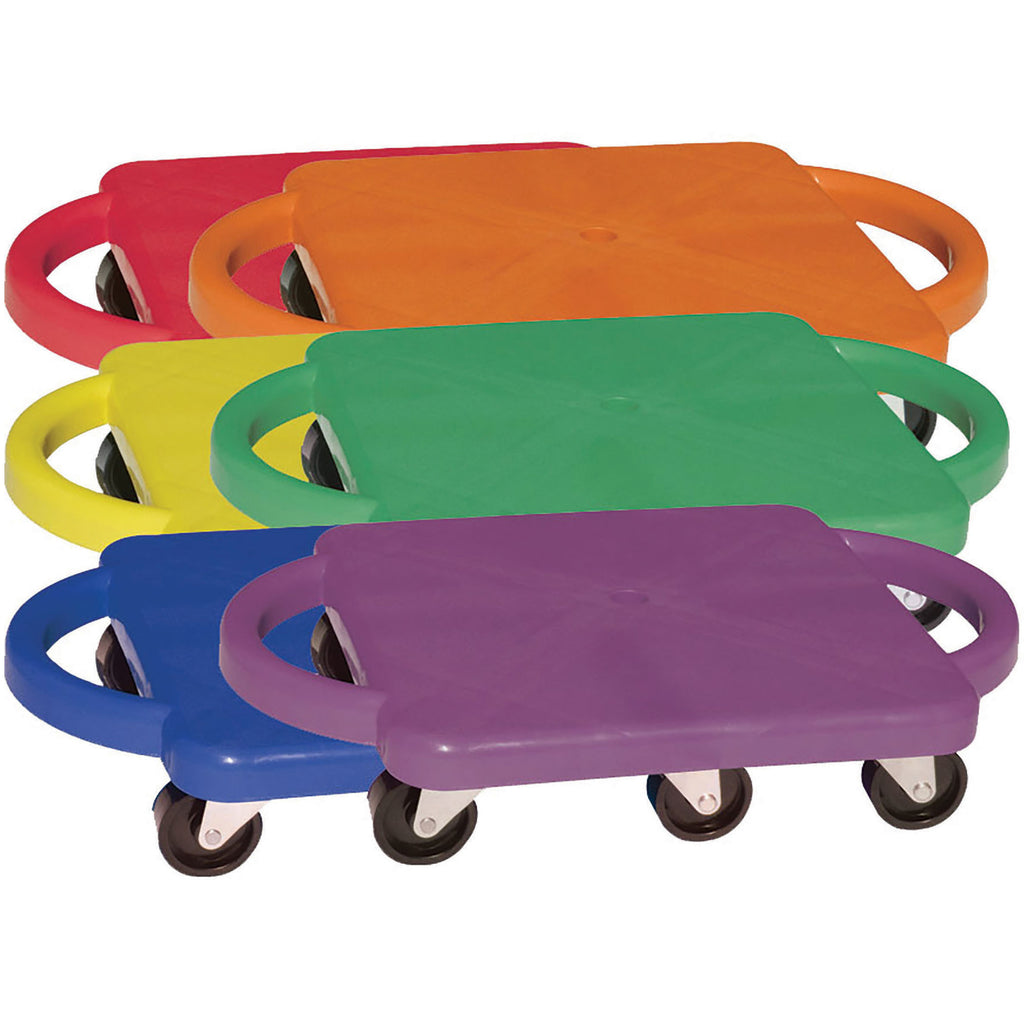 Champion Sports Scooters With Handles Set Of 6