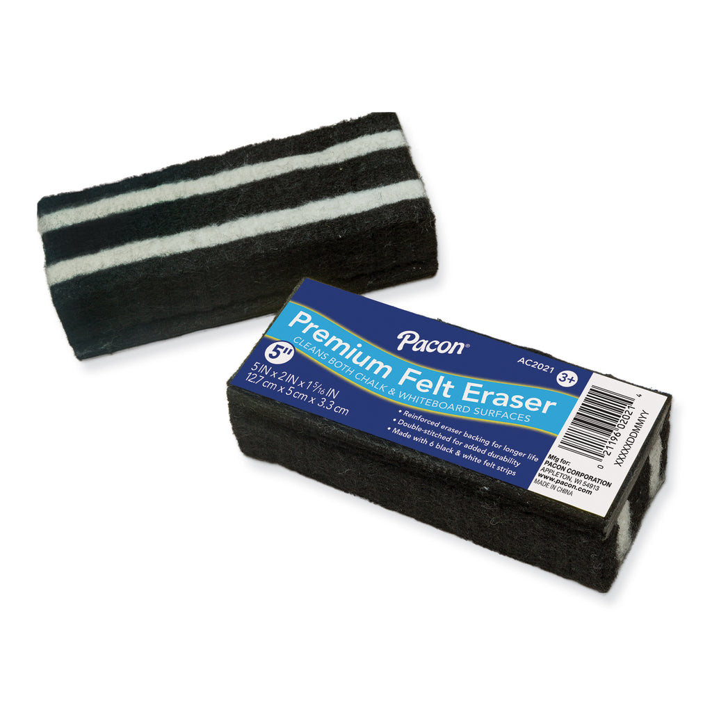Chenille Kraft Chalk and White Board Eraser - Eagle Premium