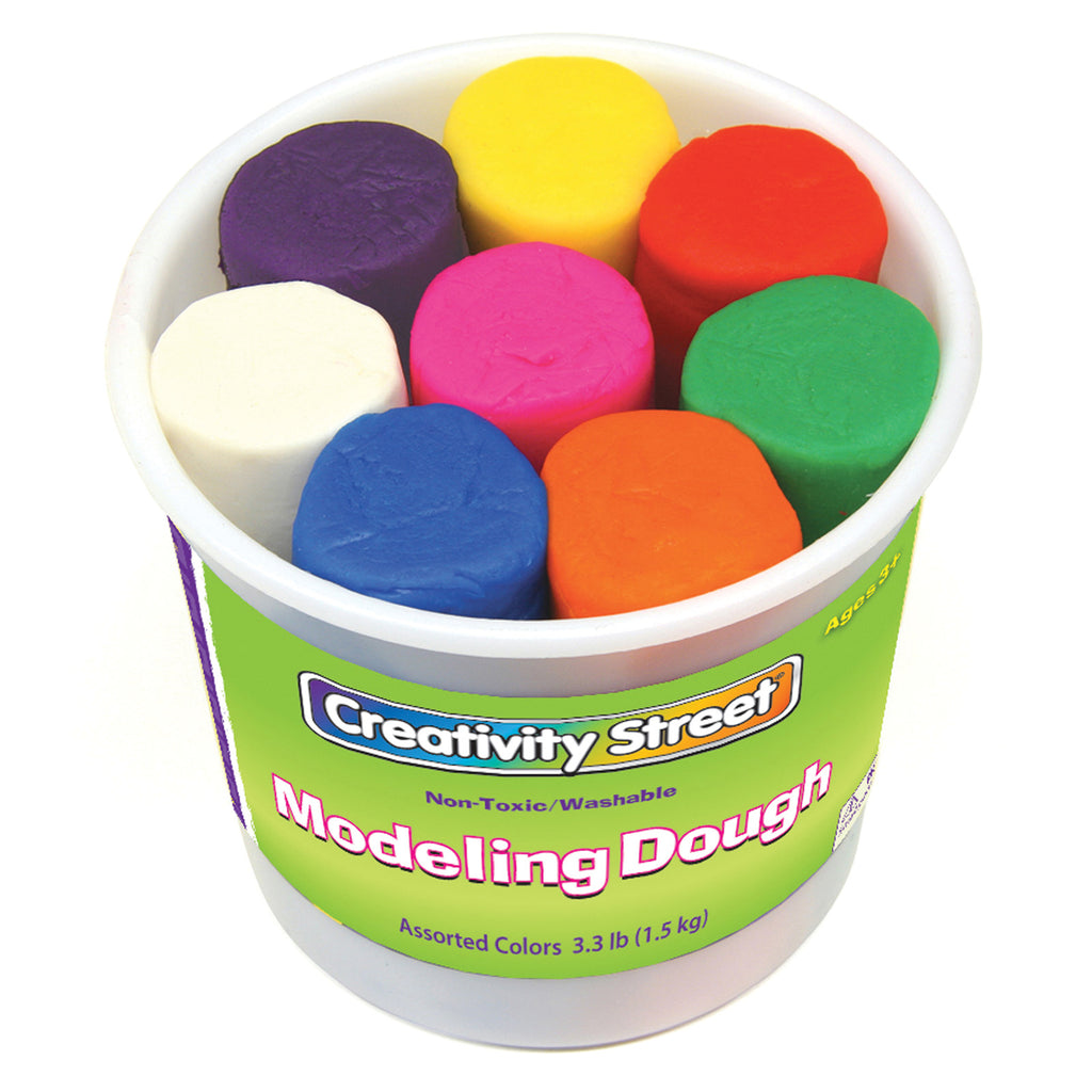 Chenille Kraft Modeling Dough Assortment - 8 Colors