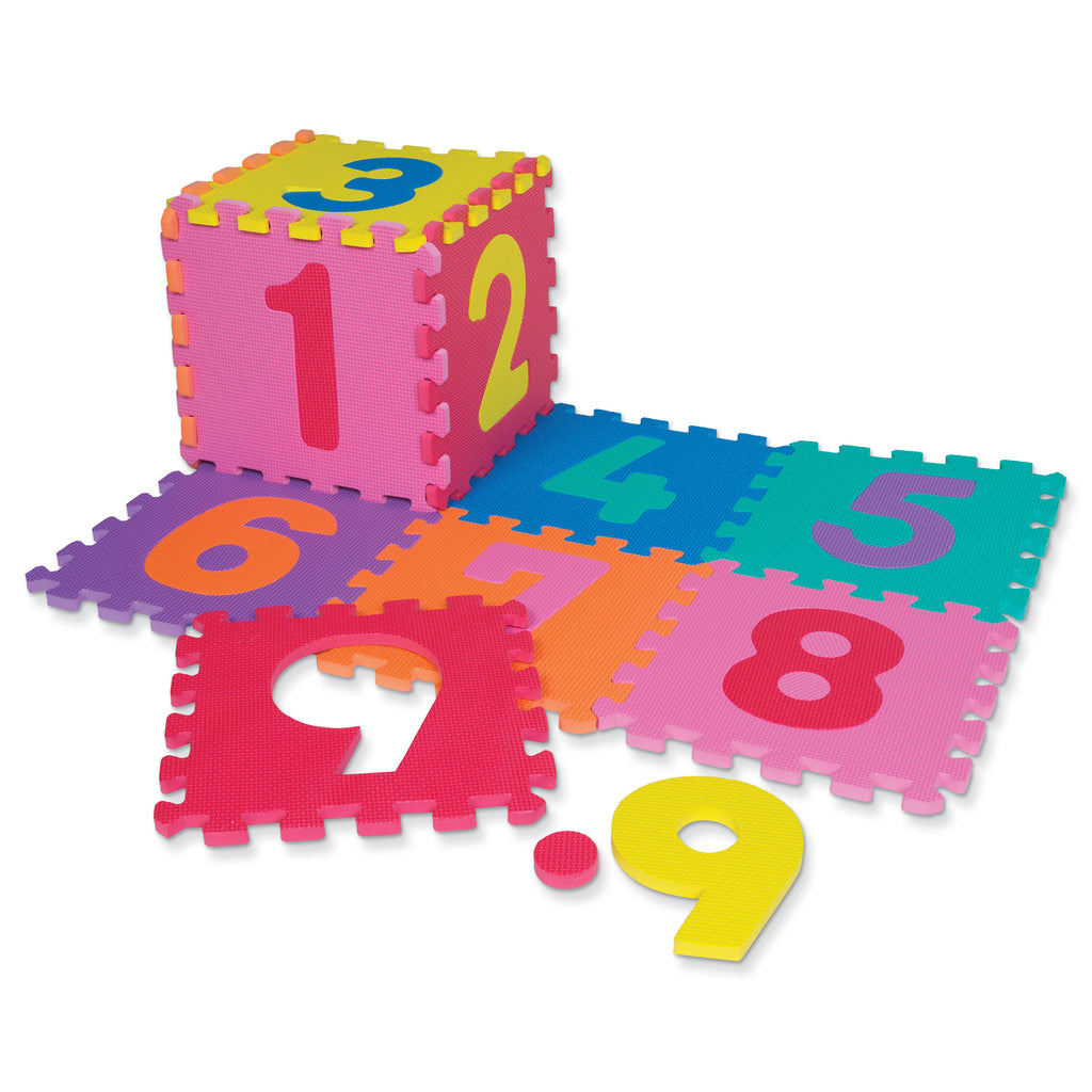 Chenille Kraft WonderFoam® Numbers Puzzle Mat - 20 Pieces