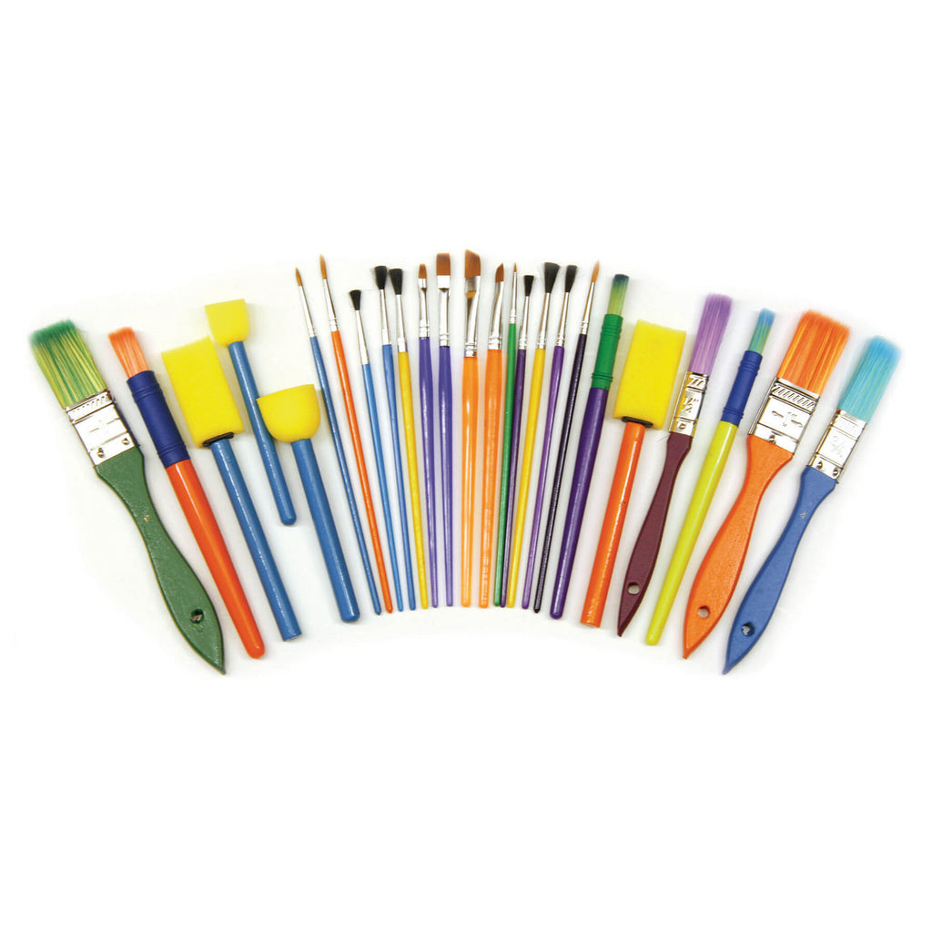 Chenille Kraft Starter Brush Set - 25 Pieces
