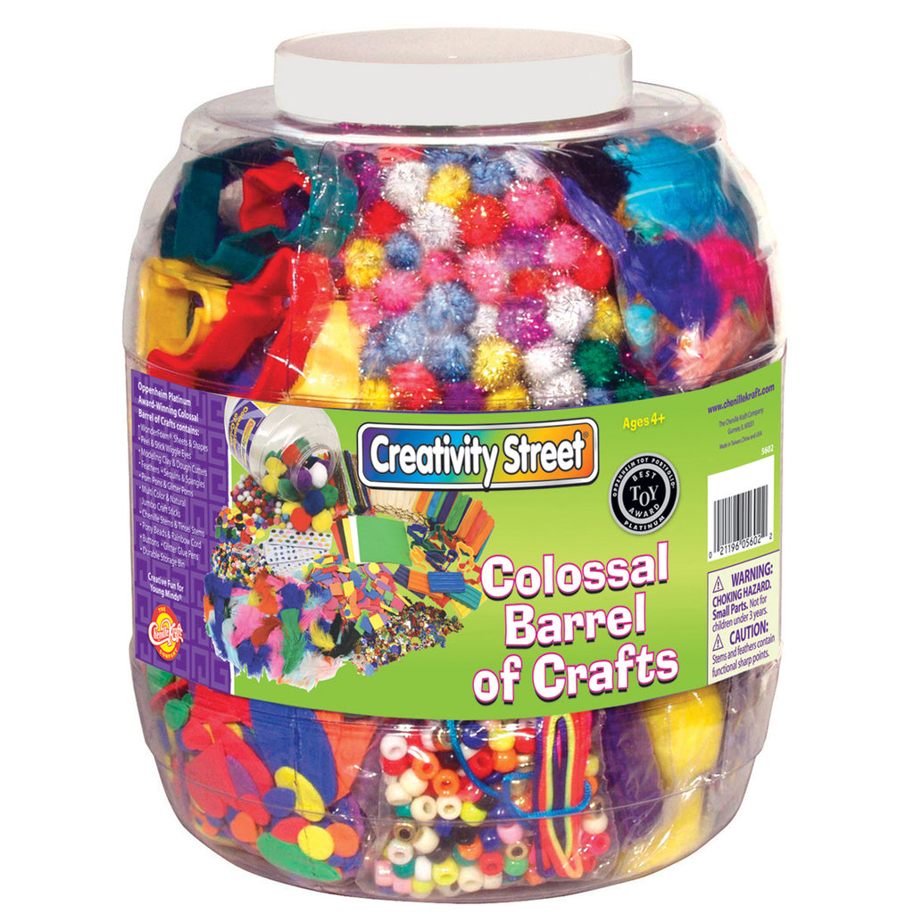 Chenille Kraft Colossal Barrel of Crafts