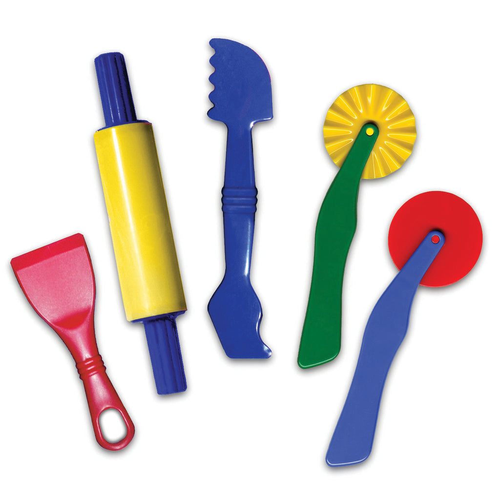 Chenille Kraft Dough Tools - 5 Pieces