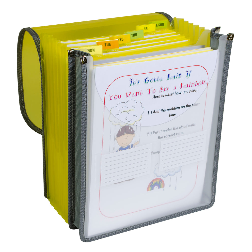 C-Line Products 7-Pocket Vertical Backpack File