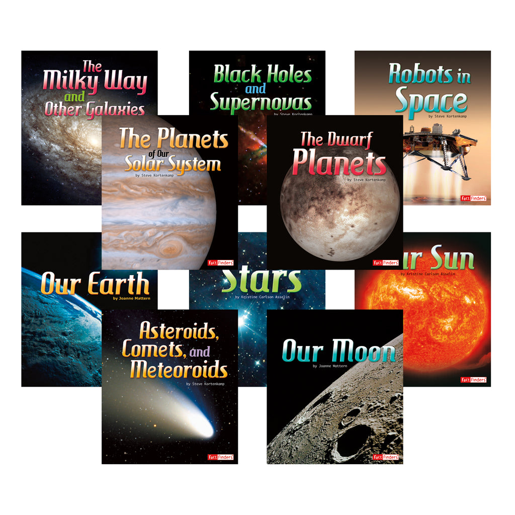 Capstone Publishing The Solar System & Beyond Book Set Of 10