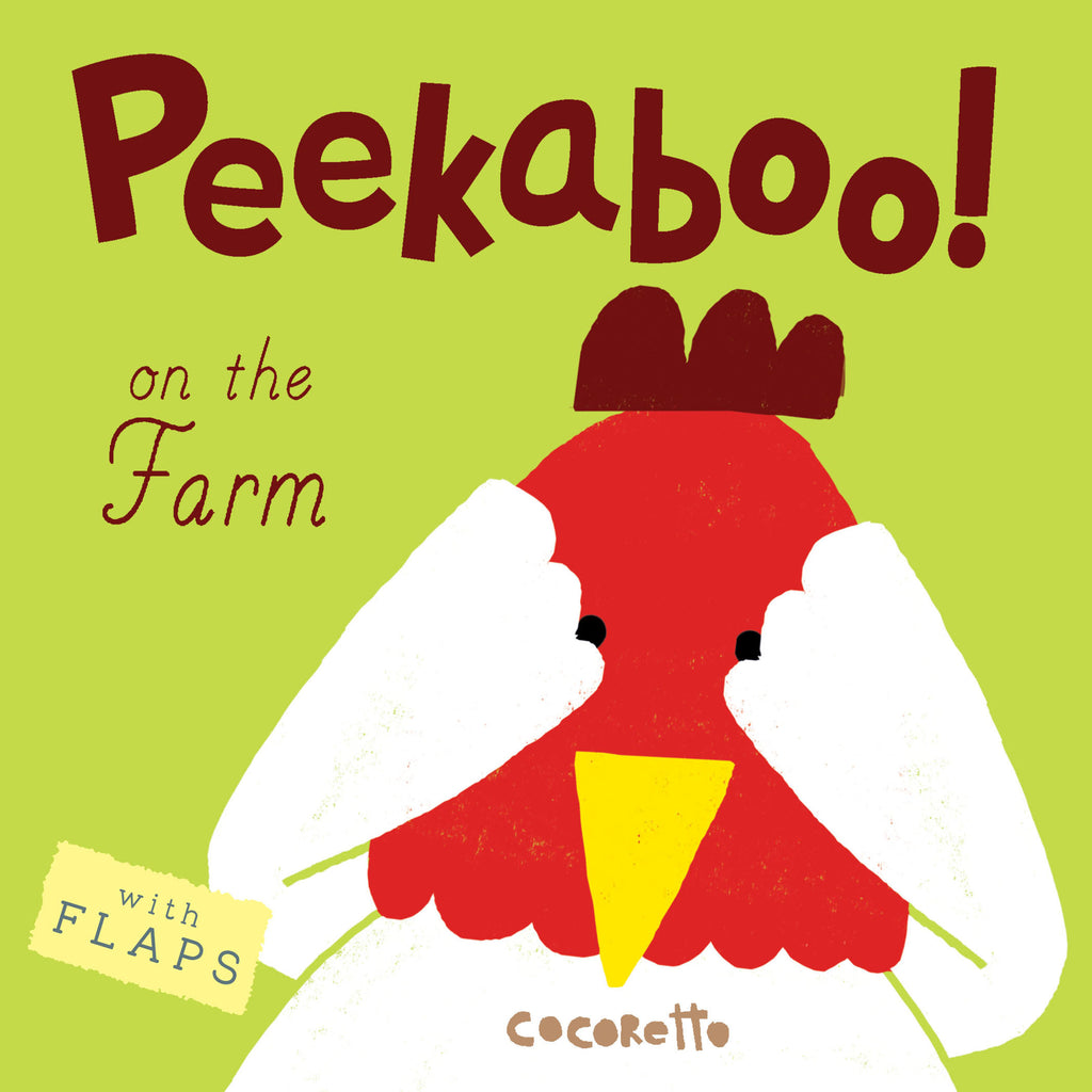 Childs Play Books Peekaboo! On the Farm! Board Book