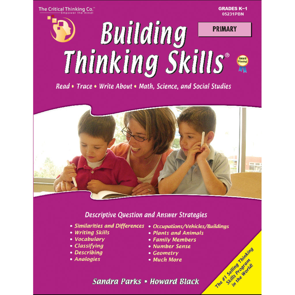 The Critical Thinking Co. Building Thinking Skills Primary