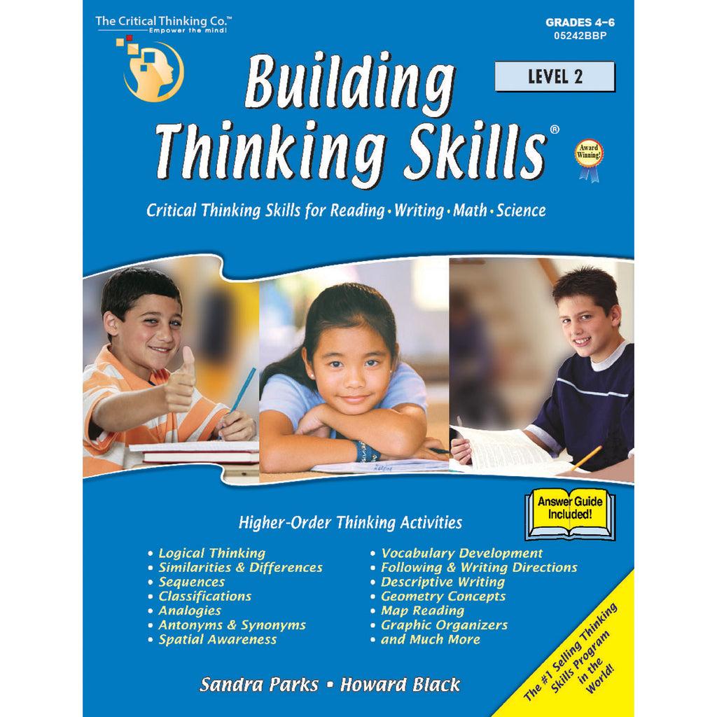 The Critical Thinking Co. Building Thinking Skills Level 2