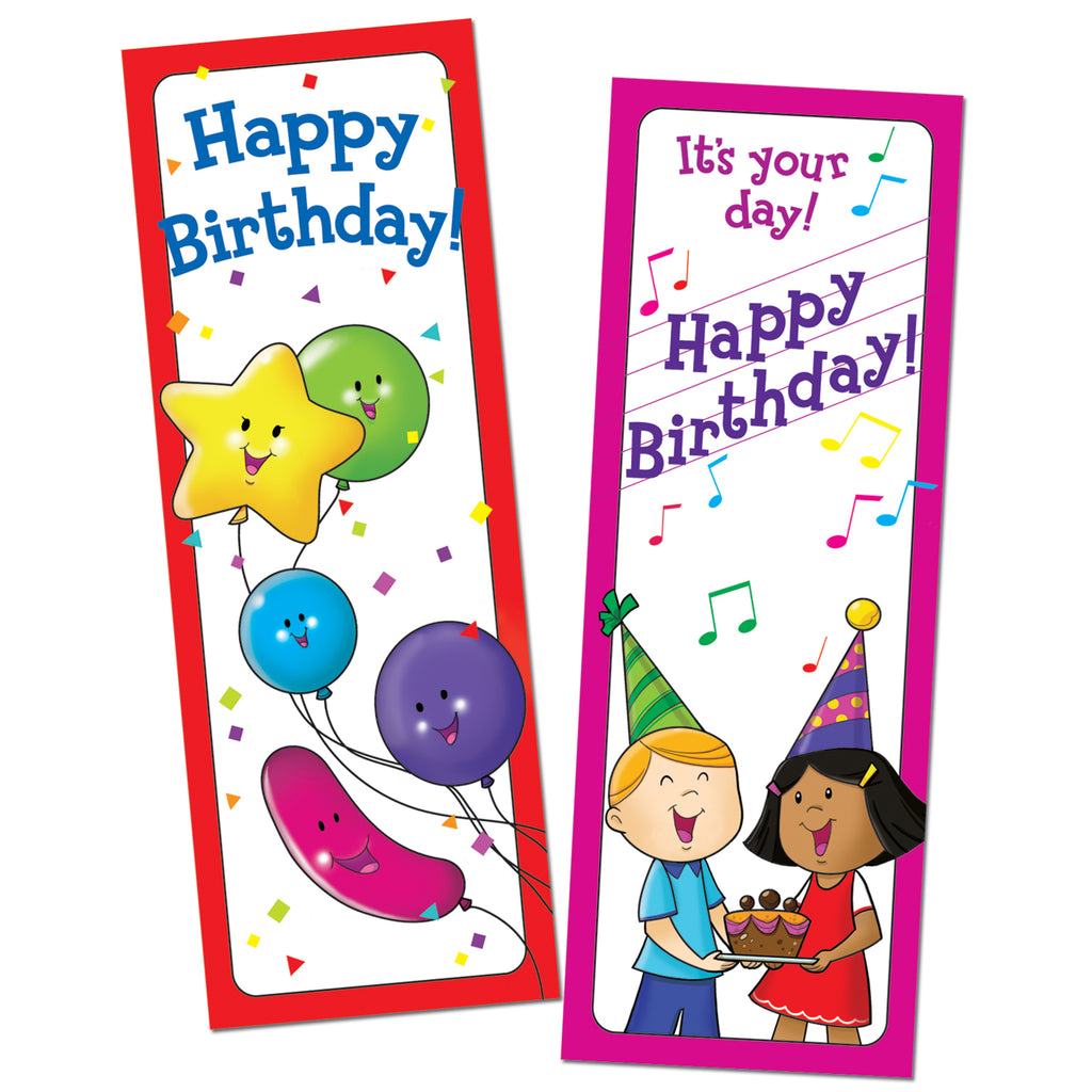Creative Teaching Press Bookmarks Happy Birthday 30/Pk