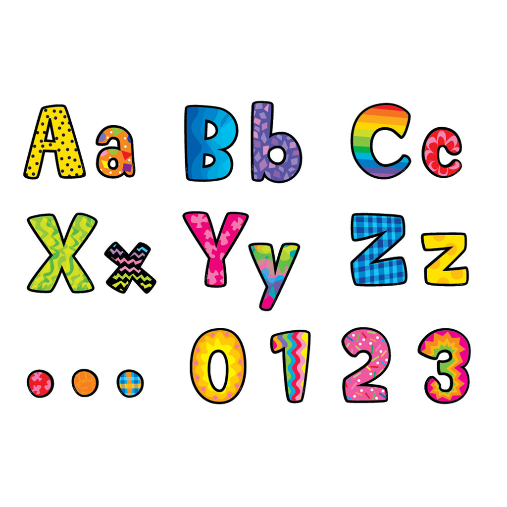 Creative Teaching Press Poppin' Patterns Designer Letters