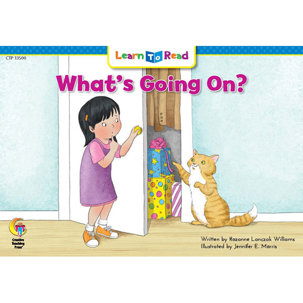 Creative Teaching Press Learn to Read: What's Going On?