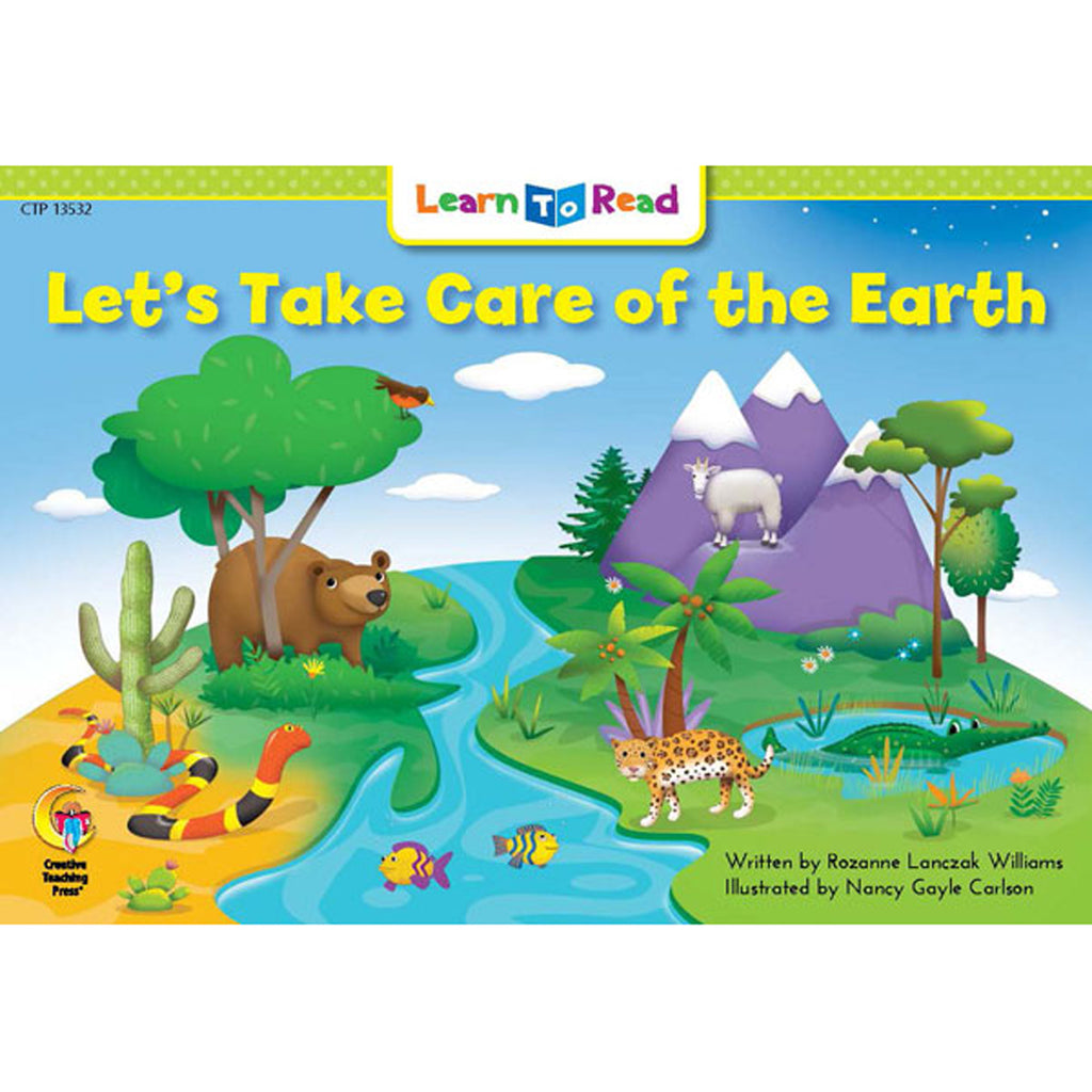 Creative Teaching Press Learn to Read: Let's Take Care of the Earth