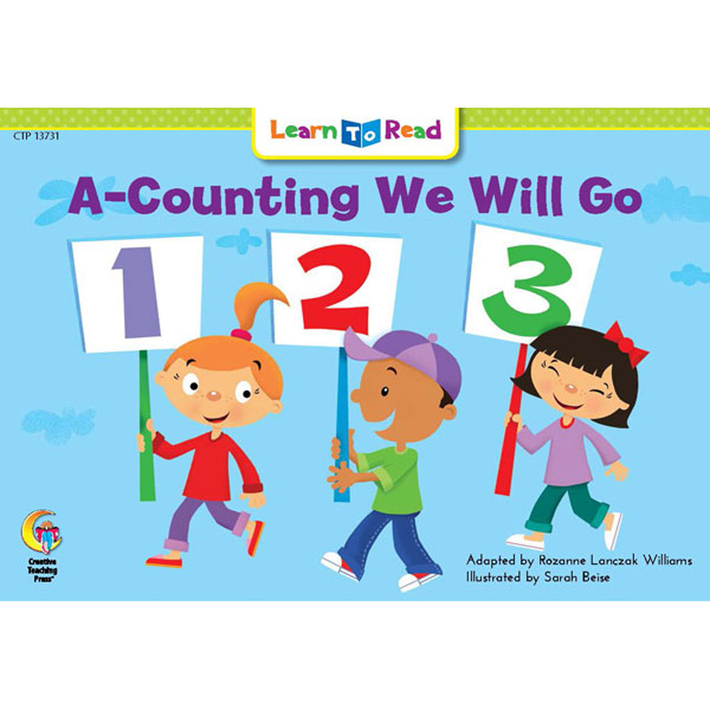 Creative Teaching Press Learn to Read: A-Counting We Will Go