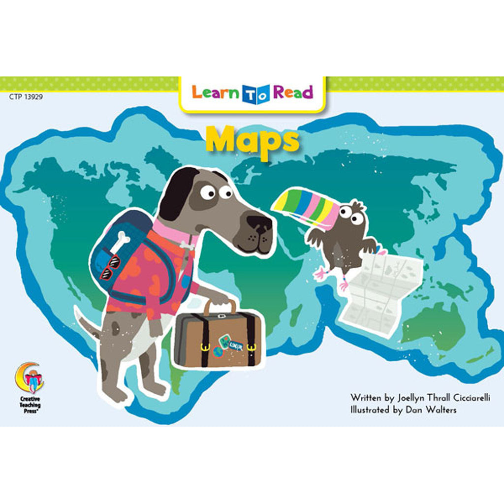 Creative Teaching Press Learn to Read: Maps
