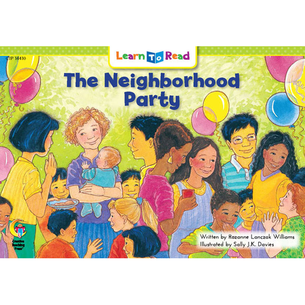 Creative Teaching Press Learn to Read: The Neighborhood Party