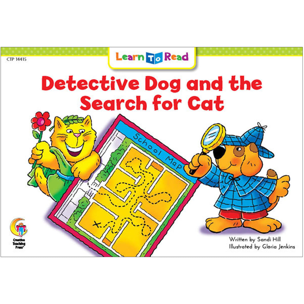 Creative Teaching Press Learn to Read: Detective Dog and the Search for Cat