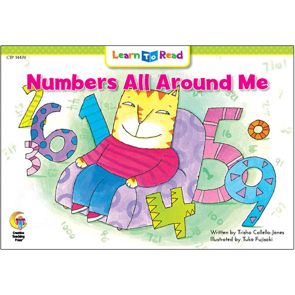 Creative Teaching Press Learn to Read: Numbers All Around Me