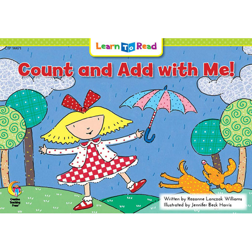 Creative Teaching Press Learn to Read: Count and Add with Me