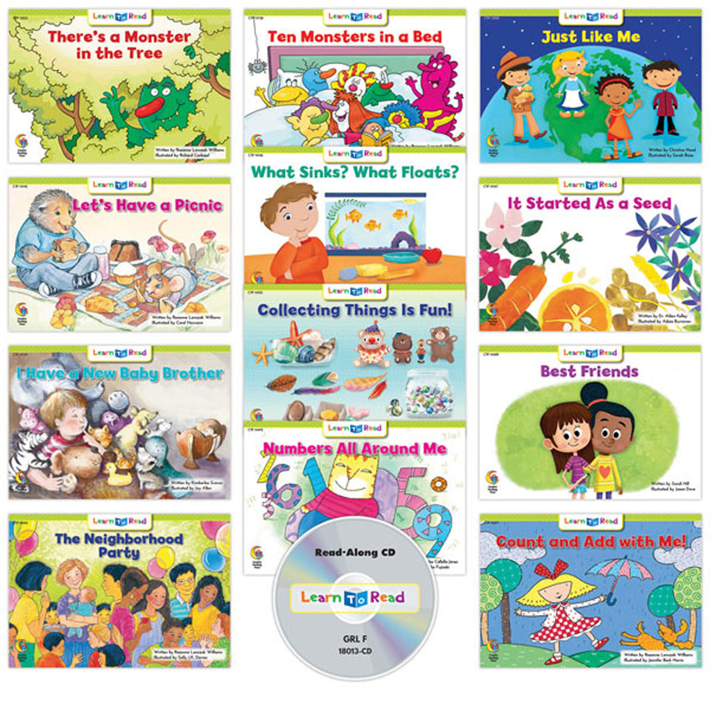 Creative Teaching Press Learn to Read: Variety Pack 13 with CD, Level F
