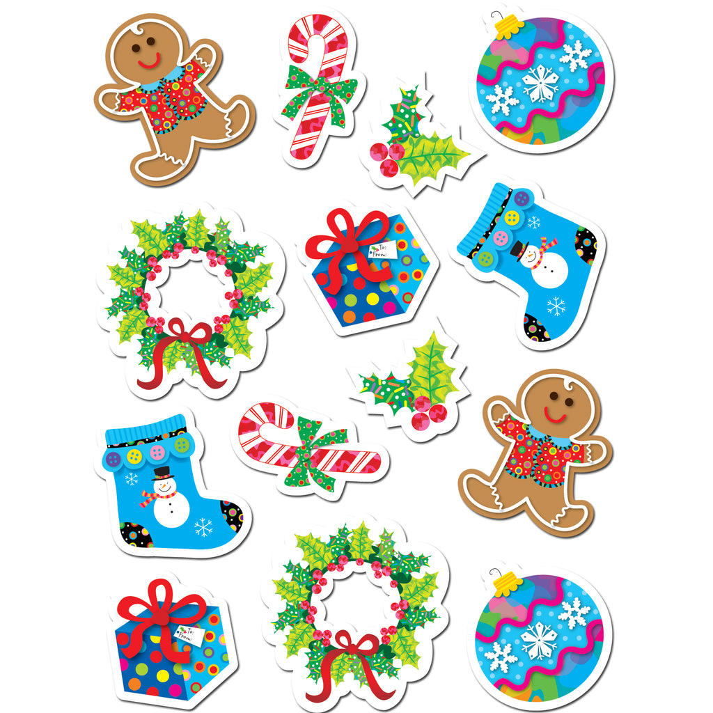 Creative Teaching Press Winter Holiday Stickers