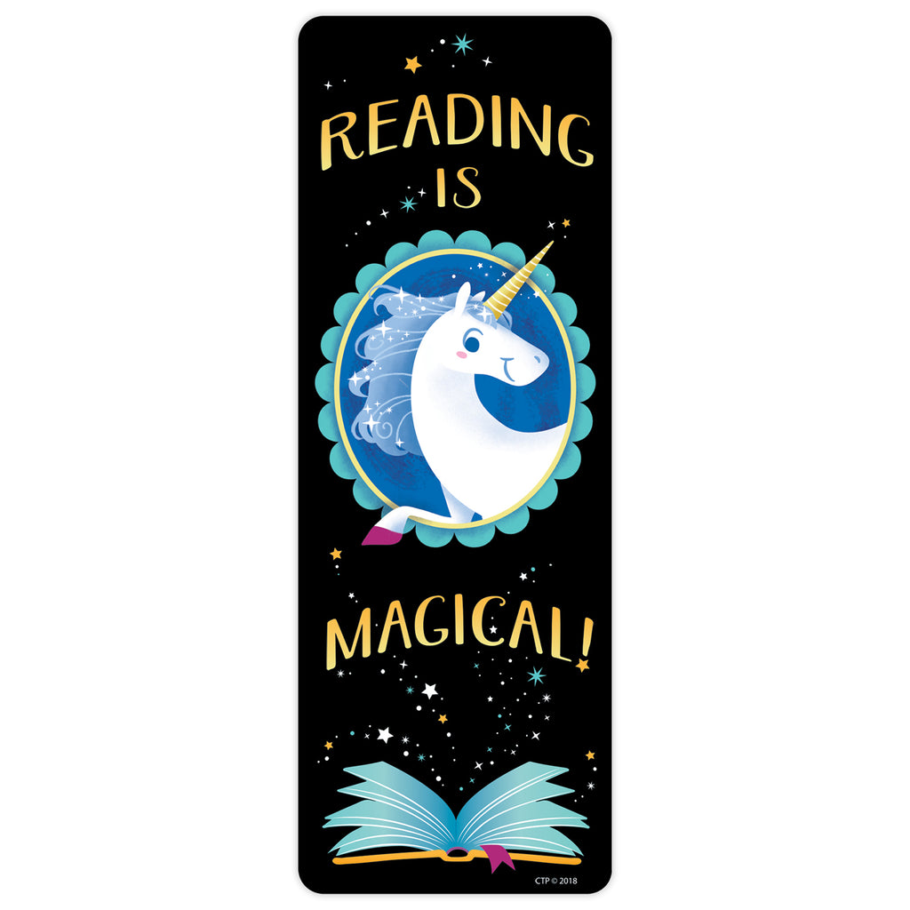 Creative Teaching Press Reading Is Magical Bookmarks