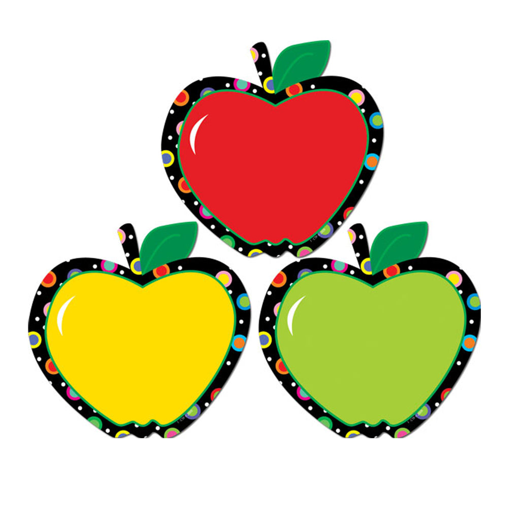 Creative Teaching Press Apples Poppin' Patterns Cut Outs