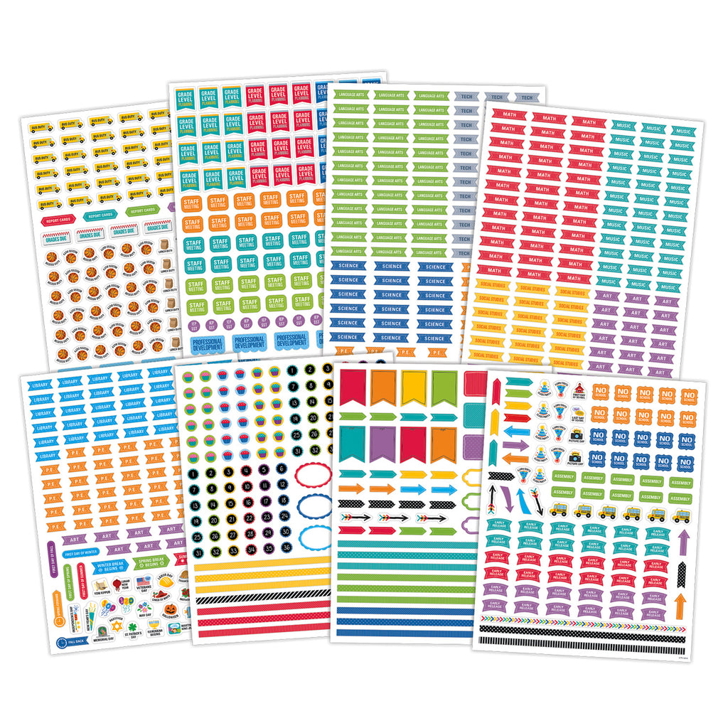 Creative Teaching Press Lesson Planner Stickers