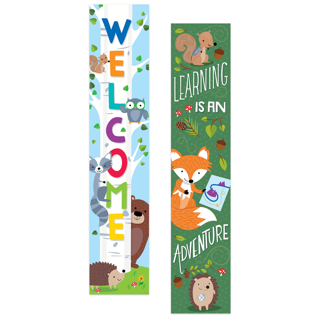 Creative Teaching Press Woodland Friends Banner (2-sided)