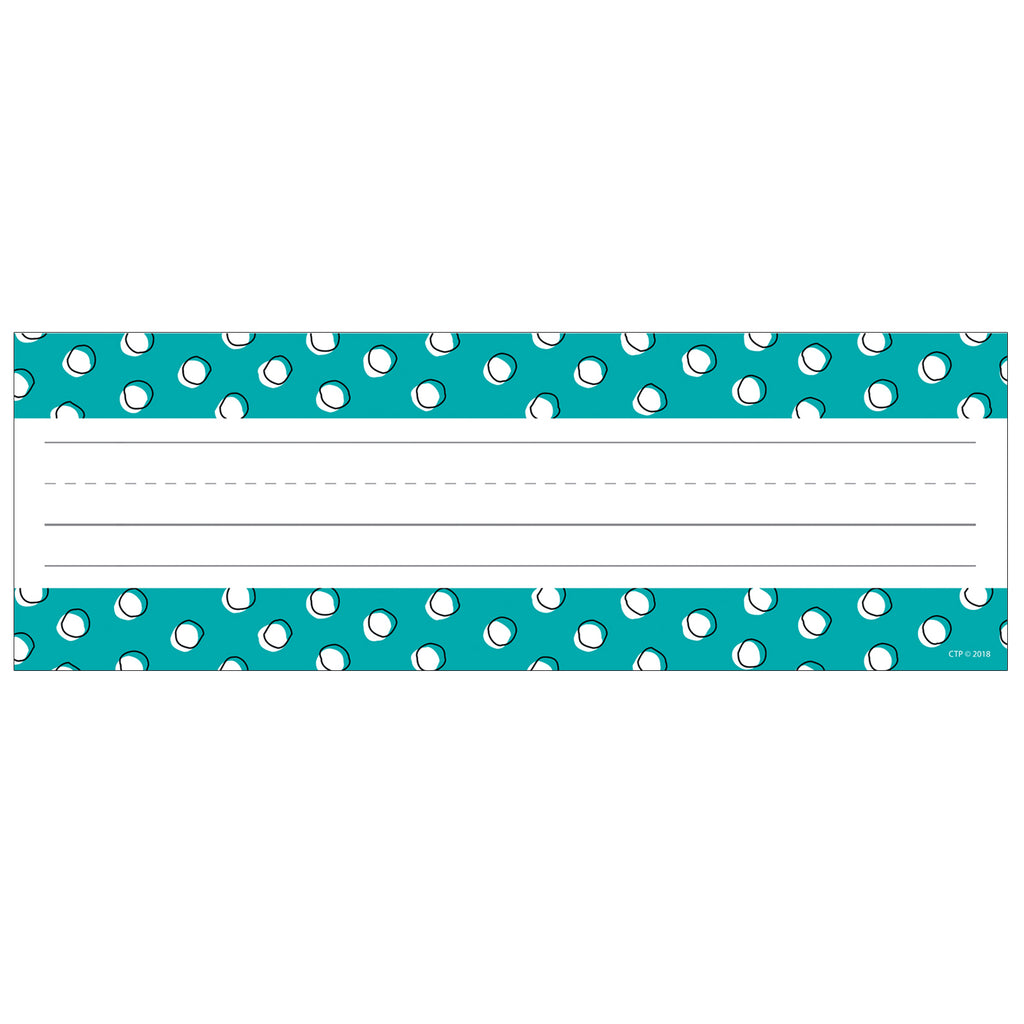 Creative Teaching Press Doodle Dots Name Plates