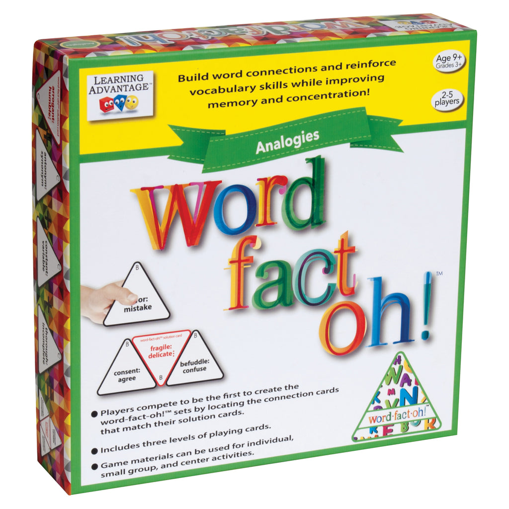 Learning Advantage word-fact-oh™ Analogies