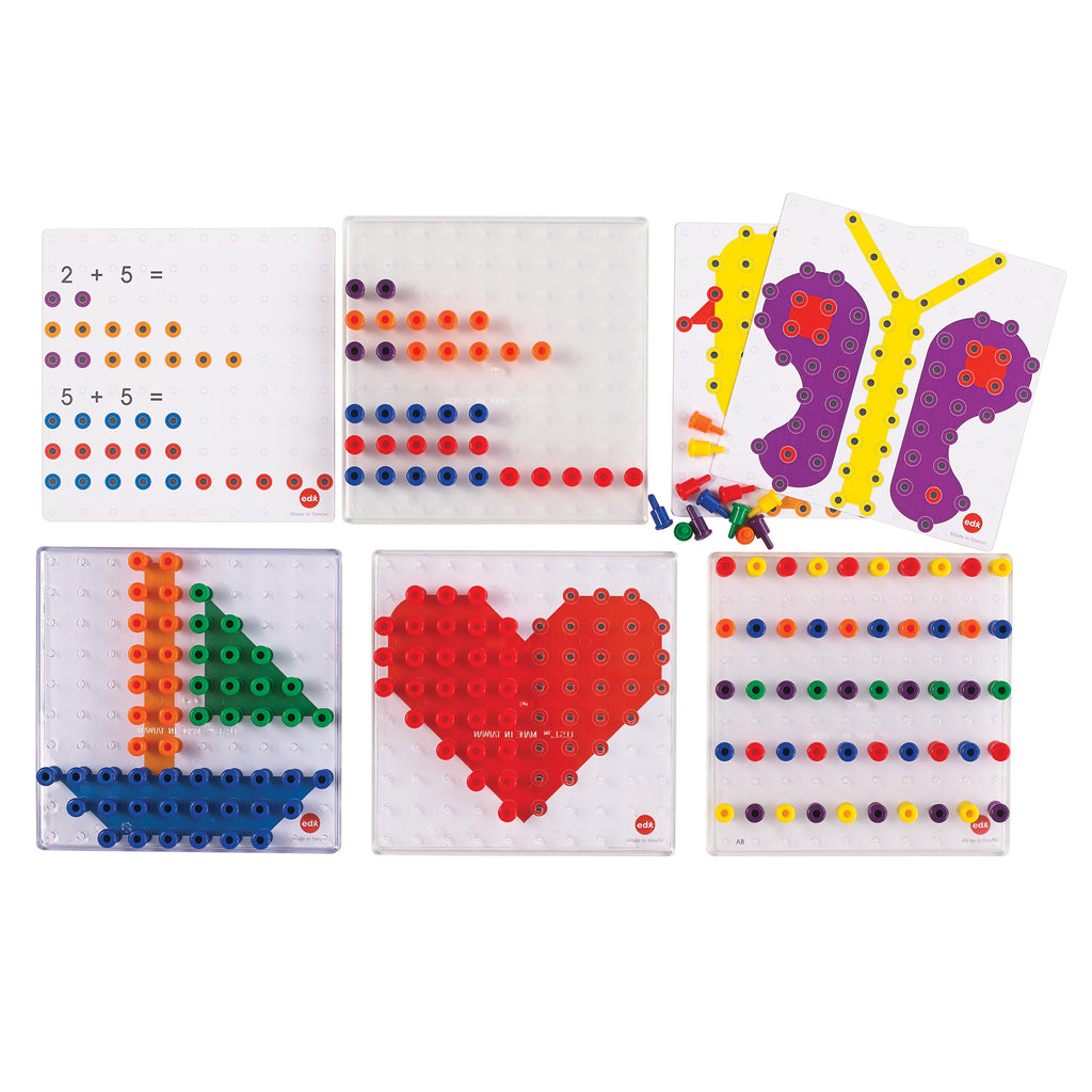 Learning Advantage Small Pegs Activity Set