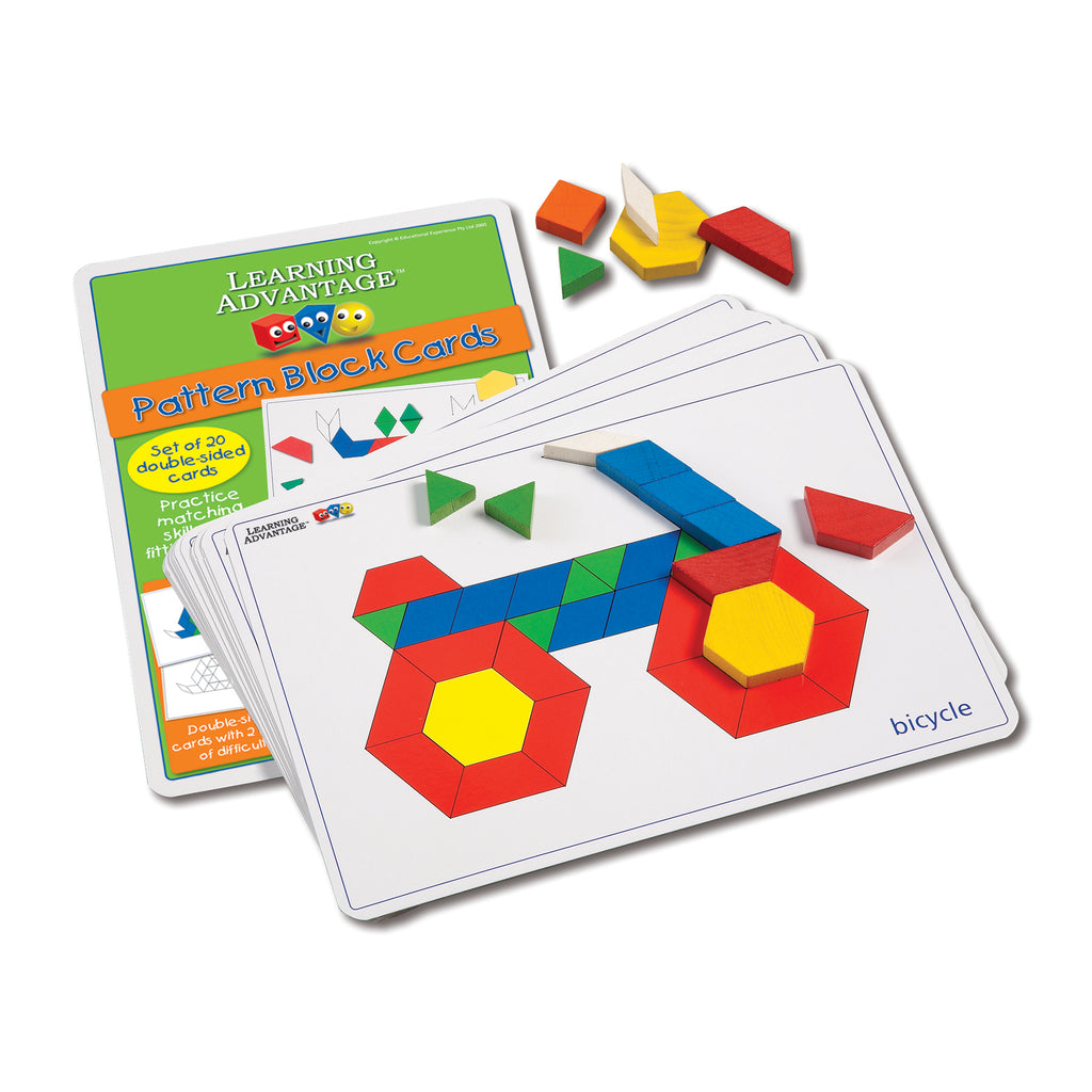 Learning Advantage Pattern Block Cards