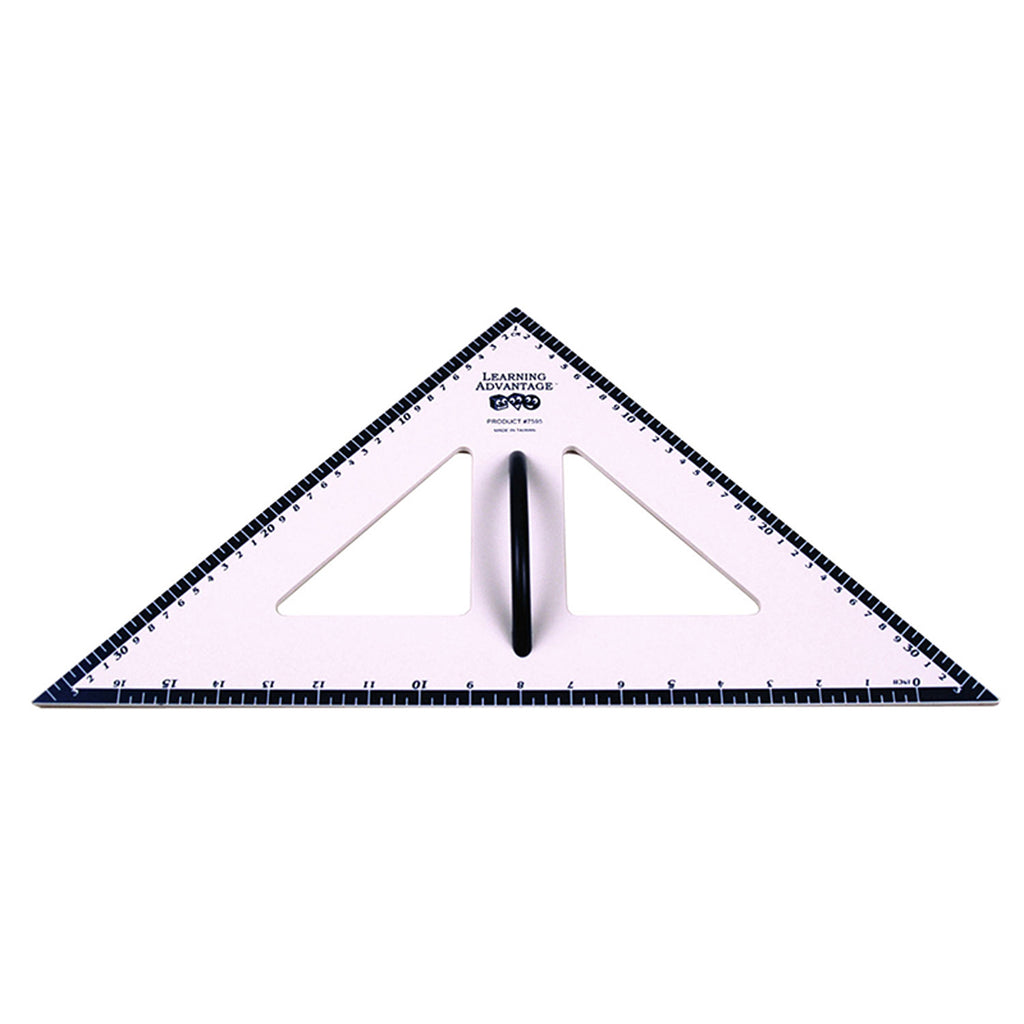 Learning Advantage Dry Erase Magnetic Triangle 45/45/90