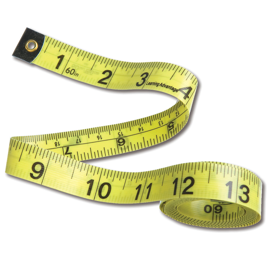 Learning Advantage Tape Measures, Set of 10