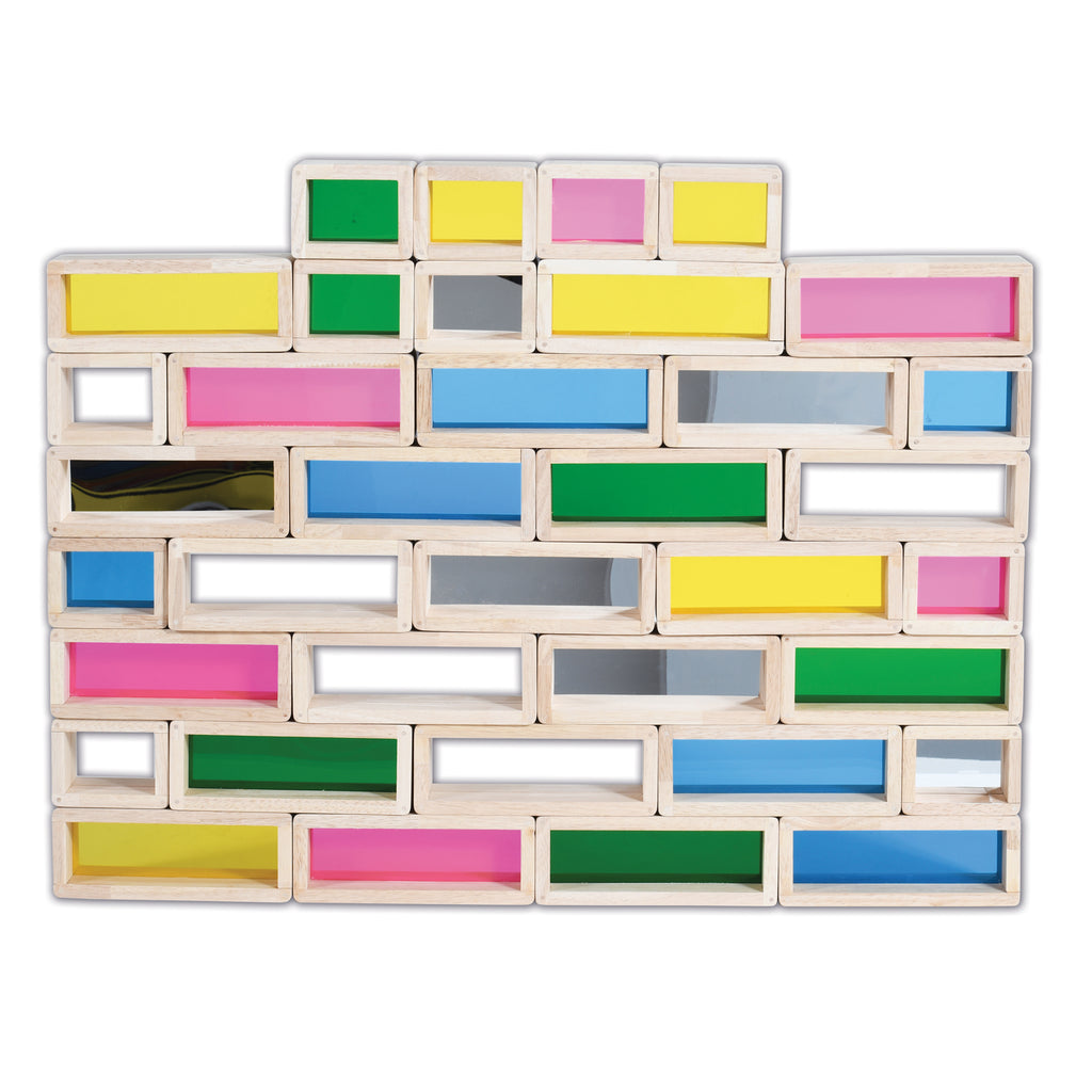 Learning Advantage Rainbow Bricks, Set of 36