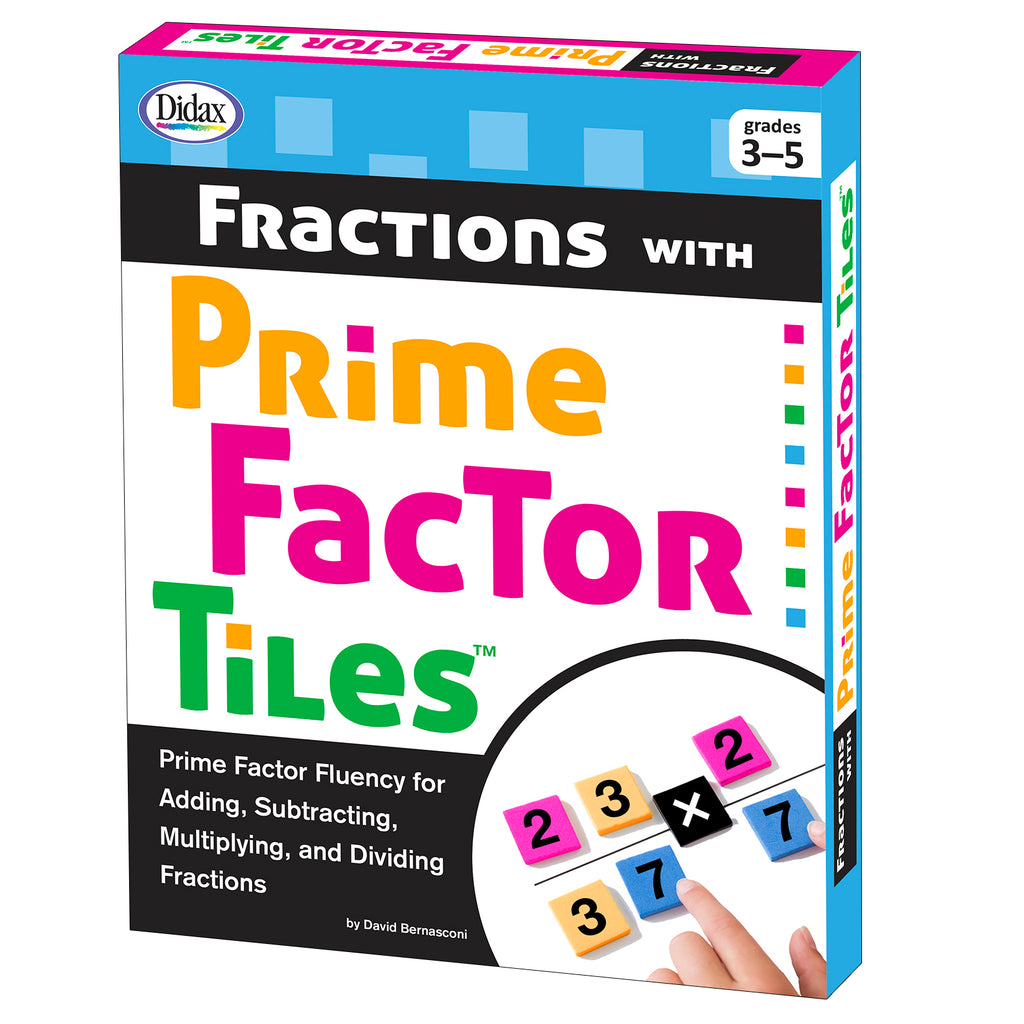 Didax Fractions with Prime Factor Tiles