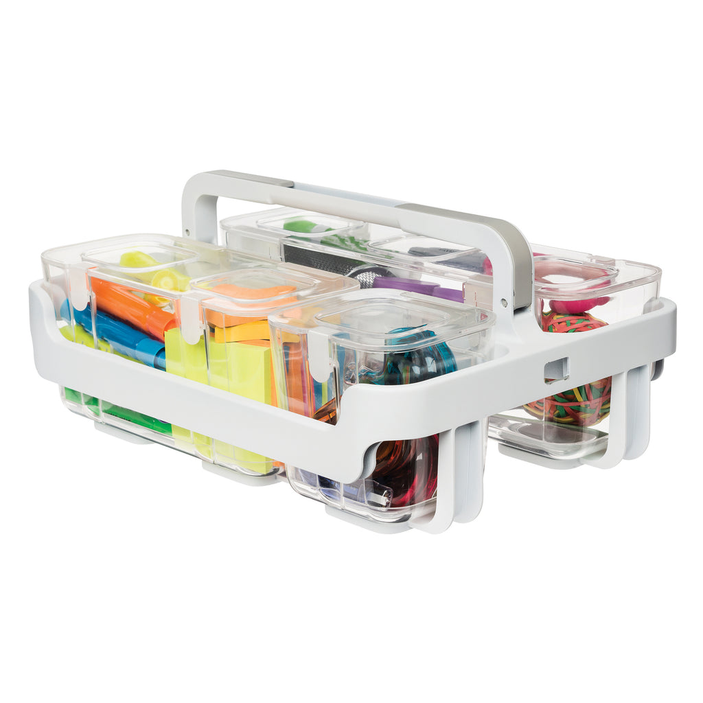 Deflecto Stackable Caddy Organizer