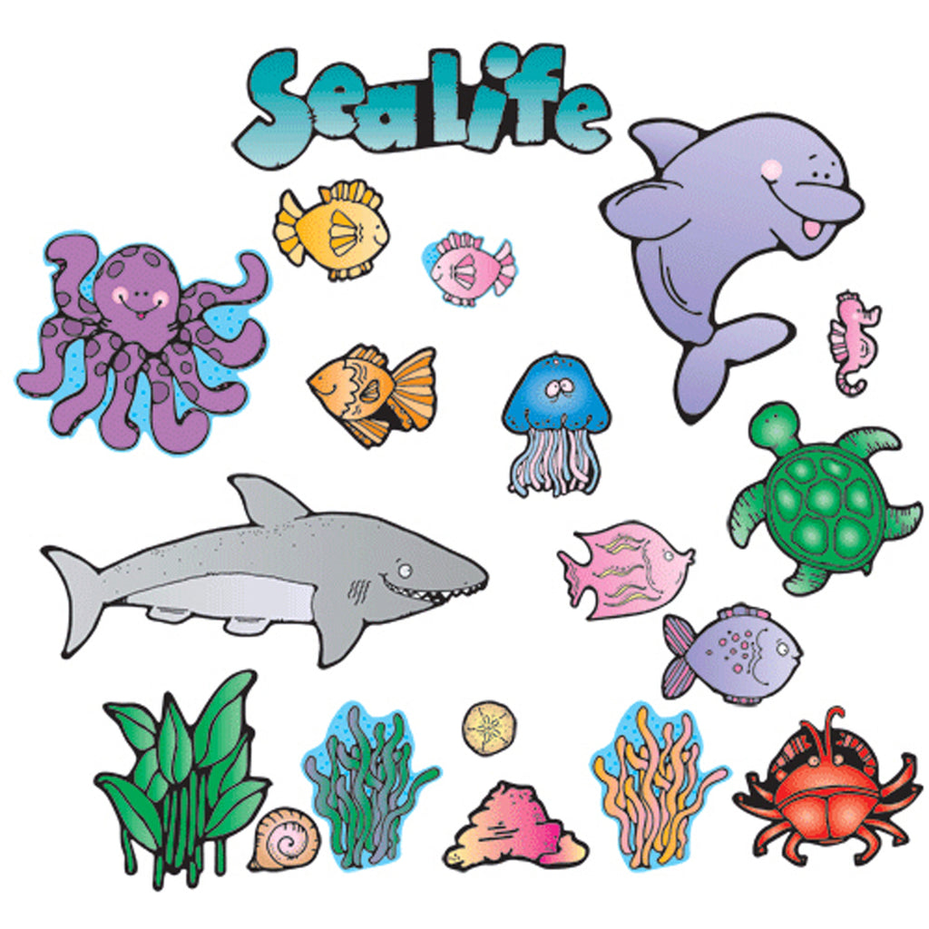 Carson Dellosa Sea Life Bulletin Board Set