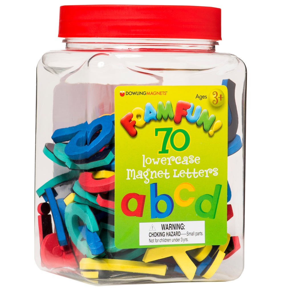 Dowling Magnets Foam Fun Lowercase Magnet Letters