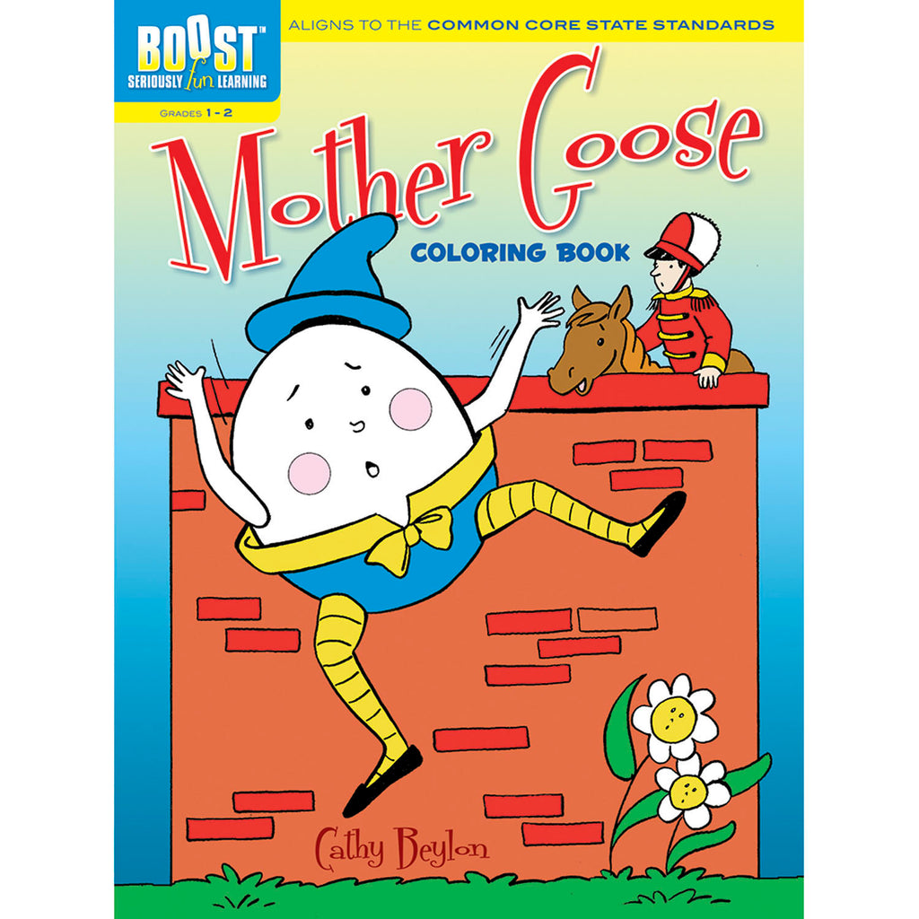 - Dover Publications BOOST Mother Goose Coloring Book DP-494144