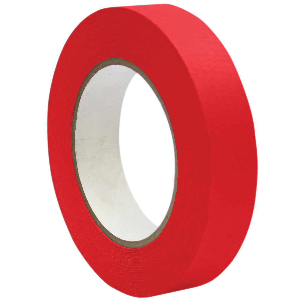 "DSS Distributing Premium Masking Tape, Red 1"" x 60 Yards"
