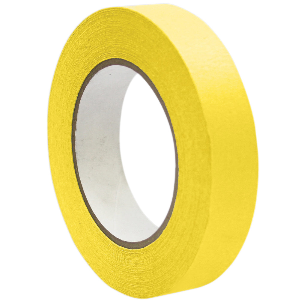 "DSS Distributing Premium Masking Tape, Yellow 1"" x 60 Yards"
