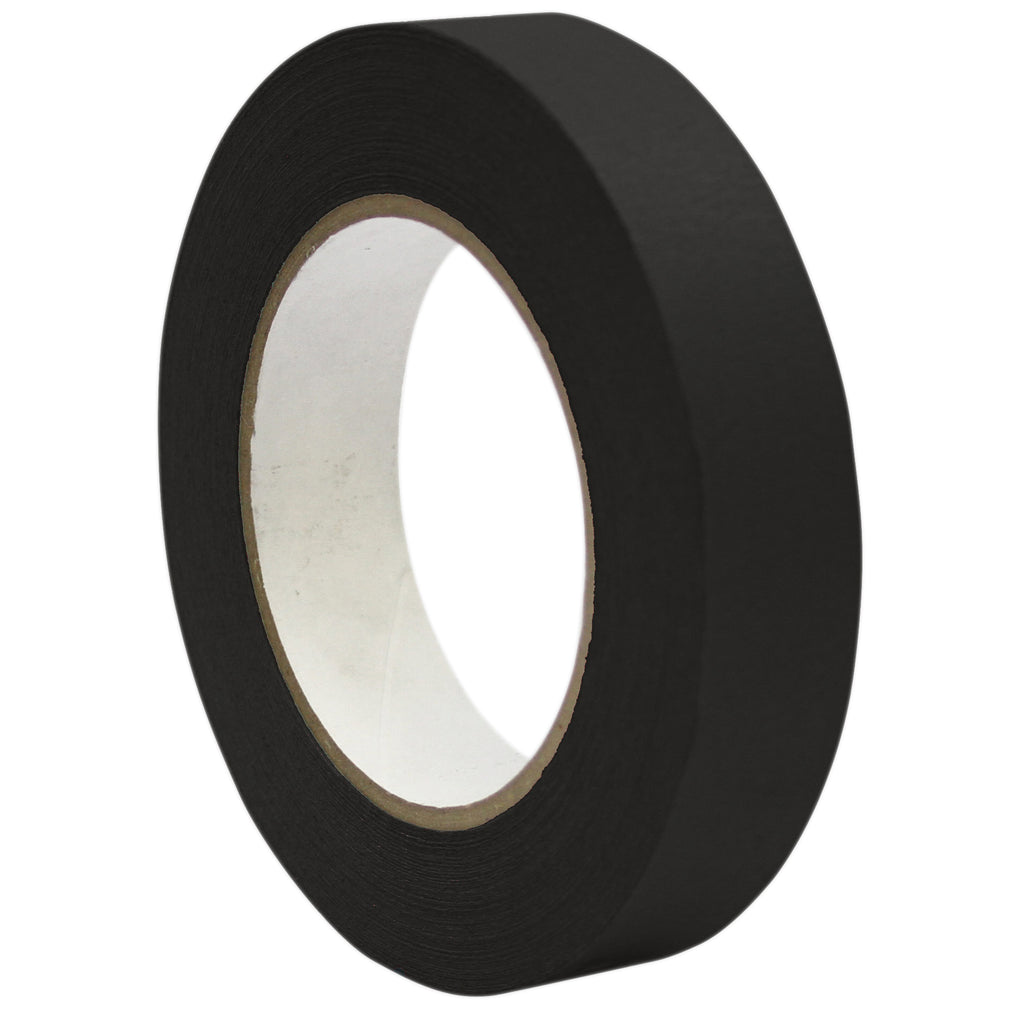 "DSS Distributing Premium Masking Tape, Black 1"" x 60 Yards"