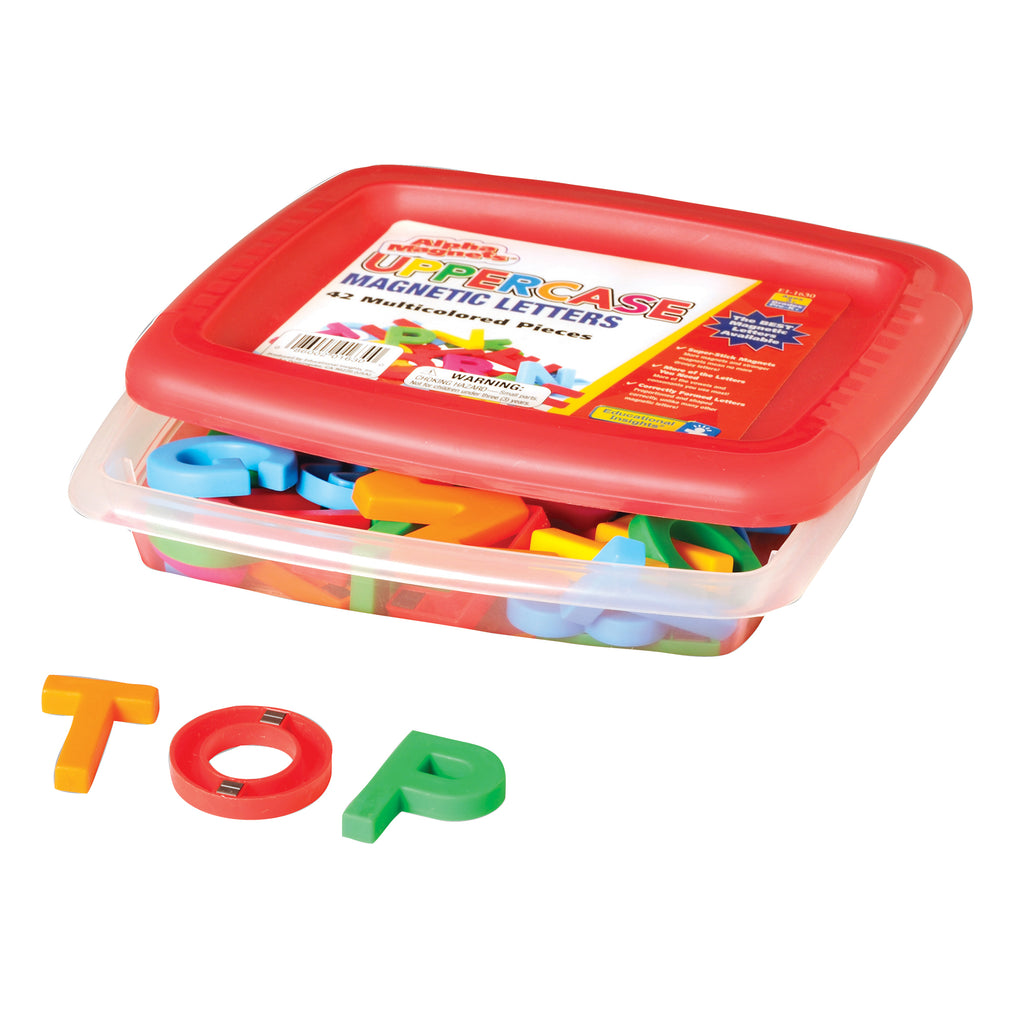 Educational Insights AlphaMagnets® Uppercase 42 Pieces Multicolored